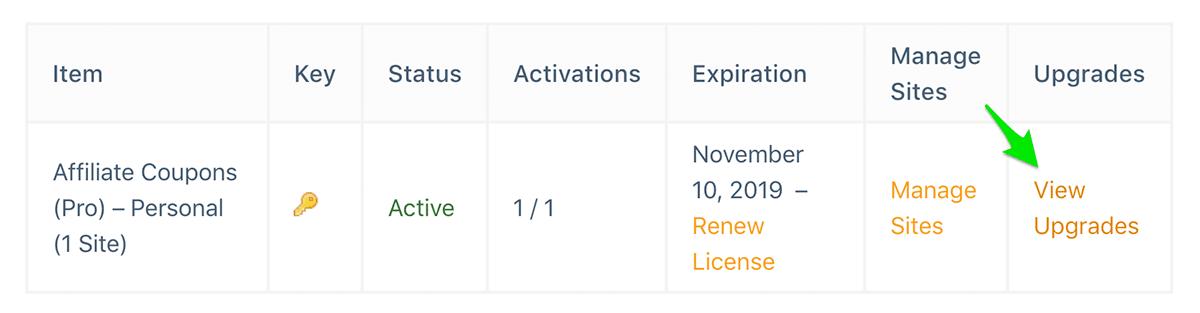 Account License Upgrade License